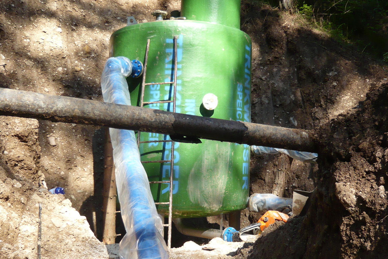 Trinkwasserleitung- und Forststraßenbau